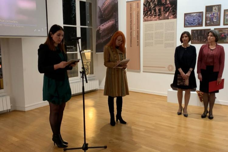 "he exhibition ""Intangible Cultural Heritage of Serbia"" at the Cultural Center of Serbia in Paris"